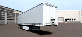 Sattelauflieger Curtainsider - mercedes-rent.de